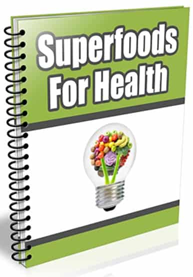 Super Foods For Health PLR